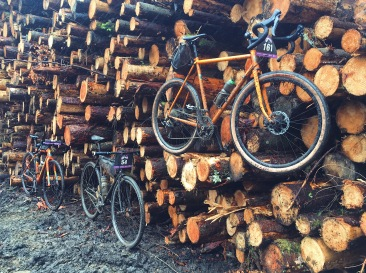 Obligatory wood stack bike shoot.